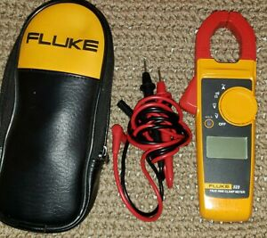 Fluke 323 True Rms Digital Clamp Meter Multimeter Ac Dc Voltage Rms Amp True