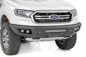 Rough Country Heavy Duty Front Bumper W Leds For 19 21 Ranger 10759