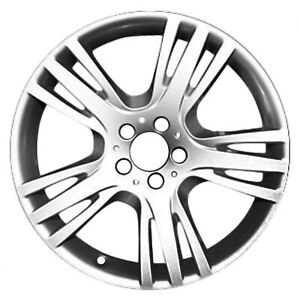 Oem Reconditioned 19x7 5 Alloy Wheel Silver Metallic Full Face Painted 560 85276