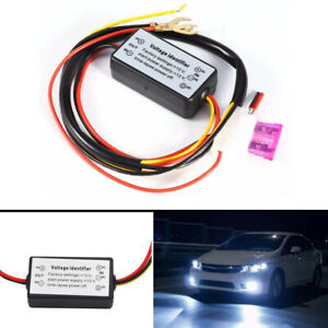 Car Led Daytime Running Light Drl Relay Harness Automatic On Off Controller Co