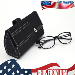 Car Universal Sun Visor Sunglasses Organizer Holder Eyewear Case Box Visor Tray