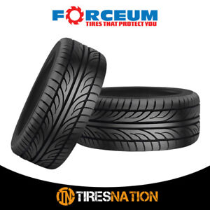 2 New Forceum Hena 205 55r15 88v All Season Performance Tires