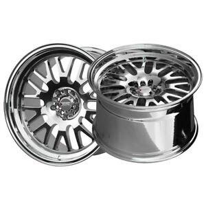 2 Xxr 531 18x11 5 100 73 1 Hub 20 Offset Platinum Wheel Rim