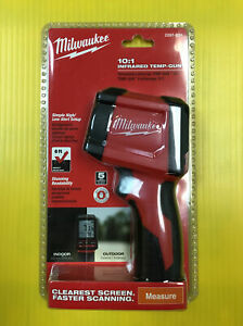 Milwaukee 2267 20h 10 1 Infrared Thermometer Temperature Gun Free Shipping