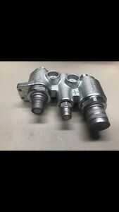 Faster 4bd4fh 7246783 Hydraulic Quick Connect Flat Face Saturn Block Bobcat Jic