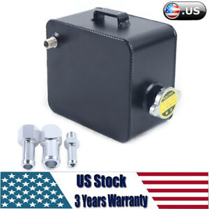 2 5l Aluminum Fuel Cell Tank Racing Fuel Cell Gas Tank With Cap Us Stock