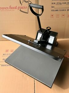16 X 24 Digital Clamshell Sublimation Heat Press Transfer T Shirt Machine Ref