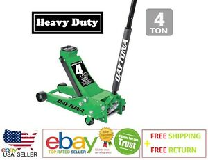 4 Ton Professional Floor Jack Heavy Duty With Rapid Pump Lift Truck Service