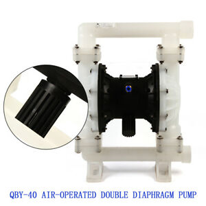 Poly Pump Double Diaphragm Air Chemical Industrial 1 2 Inlet Outlet Qby k40