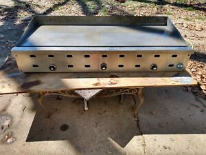 Us Range Gas Flat Top Grill 5 Ft