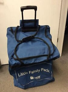 Laerdal Little Family Pack Anne Baby Cpr Manikin Blue Carrying Case Duffle Bag