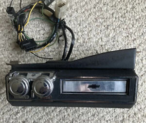 1969 Chevrolet Original 8 Track Tape Player Impala Chevelle Nova