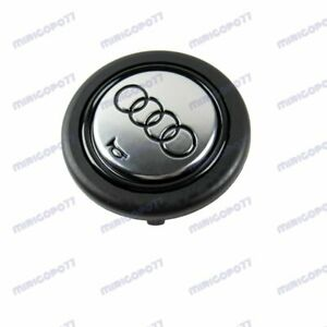 Brand New Horn Button Fits Audi Badge Fits Momo Sparco Raid Steering Wheel Sport