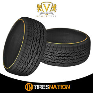 2 New Vogue Custom Blt Rad Viii 235 55r17 99h Tires