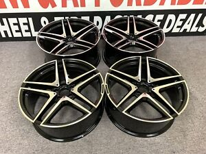 20 20 Inch Mercedes Staggered Rims Wheels New Set4 Fits S500 S550