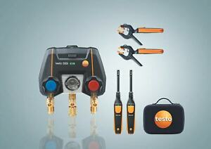 Testo 550i Smart Kit With Two 115i Temperature Probes And Two 605i Thermohygrome