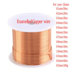 New Cable Copper Wire Magnet Wire Enameled Copper Winding Wire Coil Copper Wire