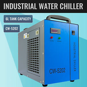 Cw 5202 Industrial Water Chiller 60 150w Co2 Laser Tubes Factory Equipment