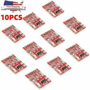 10pcs Ttp223 Capacitive Touch Switch Button Self lock Module Sensor Us