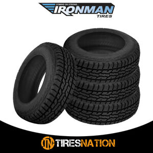 4 New Ironman All Country A t 255 70 16 111t All Terrain Truck Suv Tire