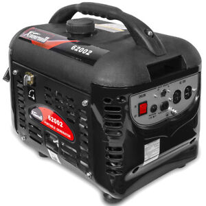 2000w Gas Portable Generator Quiet Rv Home Camping 4 stroke With Handle