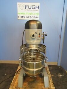 Hobart H600 60 Qt Commercial Dough Mixer With Bowl Whisk Tested With Video