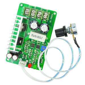 Dc 10 40v 10a Pwm Brush Motor Speed Controller Governor Current Limiter Module