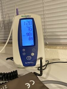 Welch Allyn Spot Vital Signs Monitor 420 Nibp Spo2 And Battery