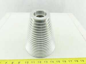 6 Od 2 3 8 19 Groove Step Cone Pulley Textile Material Separating Sheave
