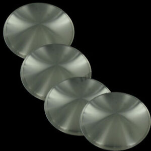 New 15 Stainless Steel Hubcaps Hub Caps Full Moon Hot Rod Racing Disks Set Of 4