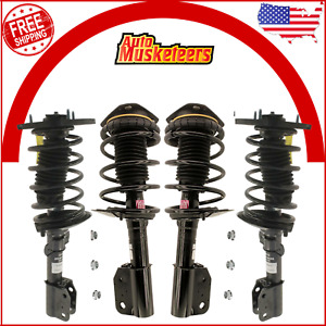 Kyb 2 Front 2 Rear Complete Struts Coil Springs For Chevrolet Impala 17 18