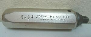 Snap On Pit 120 Hand 3 8 Chrome Impact Socket Driver Tool Only