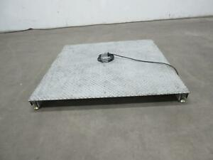 Mettler Toledo 2254 4x4 Ft Commercial Warehouse Platform Scale 5000 Lbs T104446