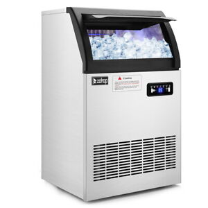 Commercial Ice Maker Machine Auto Built In Undercounter 6x12 530w Restaurant Bar