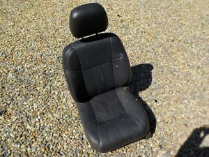 99 01 Jeep Cherokee Xj Limited Agate Drivers Left Front Leather Seat Has Wear