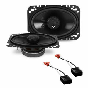 Front Dash Factory Speaker Replacement Package For 1985 1990 Chevy Caprice Nvx
