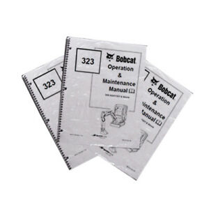 Bobcat E35 Compact Excavator Operation Maintenance Manual Owner s 1 6987275
