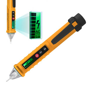 Digital Ac dc Voltage Tester Pencil Lcd Display Test Pen 12 1000v Home Tool Co
