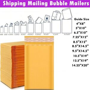 Kraft Bubble Mailers Bubble Mailing Envelopes Protective Packaging Shipping Bags