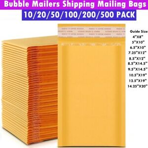 Kraft Bubble Mailers Bubble Mailing Padded Envelopes Large Bubble Shipping Bags