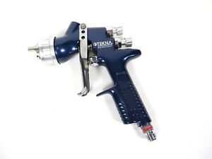 Devilbiss Basecoat Paint Spray Gun Tekna Hvlp Hv20 Blue