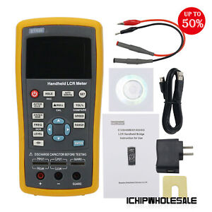 Et430 Handheld Lcr Meter Capacitance Inductance Tester Accuracy 0 3 100khz Ich