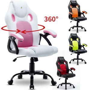 Ergonomic Gaming Chair Executive Swivel Computer Desk Seat Home Office Furniture