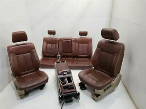 09 10 Ford F150 Right Rh Lh Driver Front Seat Bucket Captain Chair Rear Bench