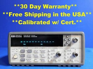 Agilent Hp Keysight 53131a Universal Frequency Counter Timer 225 Mhz