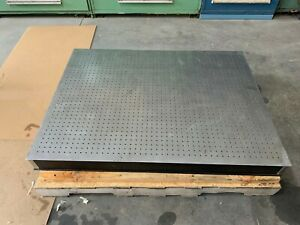 Newport Optical Table 3 X 4 4 Thick Bread Board 1 4 20 Holes In 1 Grid
