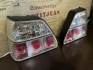 Clear Tail Lights Vw Golf 2