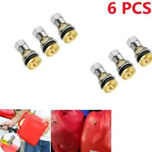 6pcs Fuel Gas Can Jug Vent Caps For Gas Fuel Water Can To Allow Faster Flowing