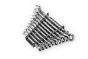 Gearwrench Kd 86758 10 Piece 90 Tooth 12 Pt Flex Head Ratcheting Combo Wr