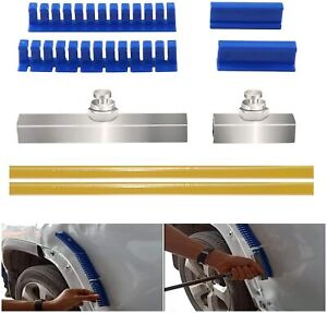 Paintless Dent Removal Puller Tabs Teeth Tools Kit With Glue Sticks For Car Body
